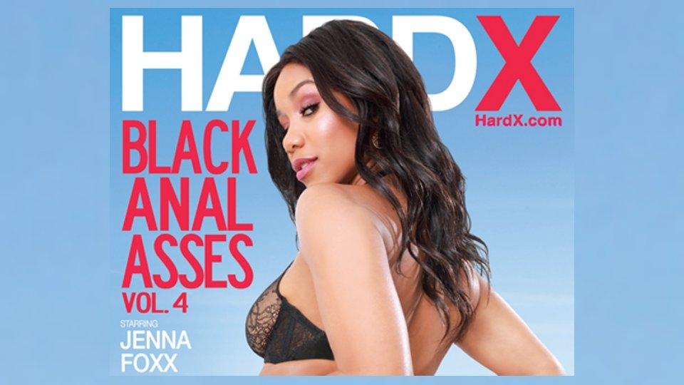 Jenna Foxx Stars in 'Black Anal Asses' for Hard X