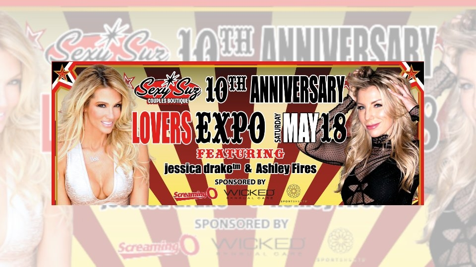 Jessica Drake Hosts Sex-Ed Seminars at Sexy Suz Couples Boutique This Weekend