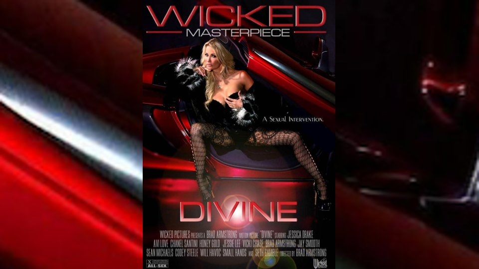 Jessica Drake is Lusciously 'Divine' for Wicked Pictures