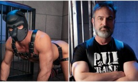 Kristofer Weston Commands 'Leather Dogs' for Fetish Force