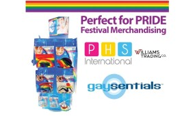Williams Trading Rolls Out Pride 'Gaysentials' Pre-Pack Display