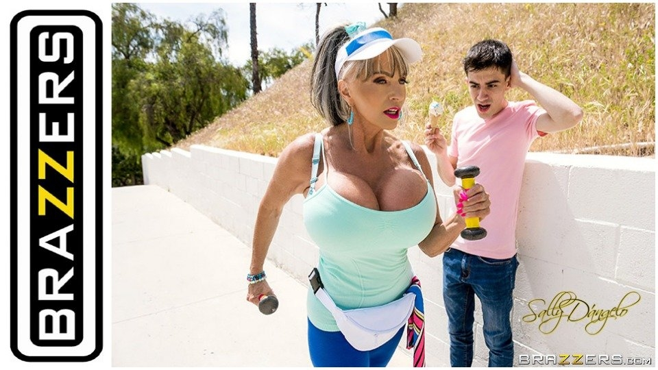 GILF Star Sally D'Angelo Returns to Brazzers for 'Plow-Her Walking'