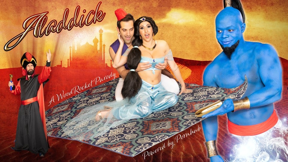WoodRocket, Pornhub Release Musical Parody 'Aladdick'