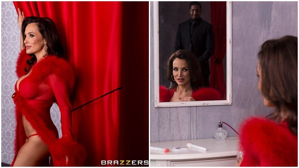 Lisa Ann Takes a New 'Lover' for Brazzers