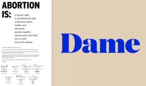Dame Products Counters Abortion Ban With NY Times Open Letter