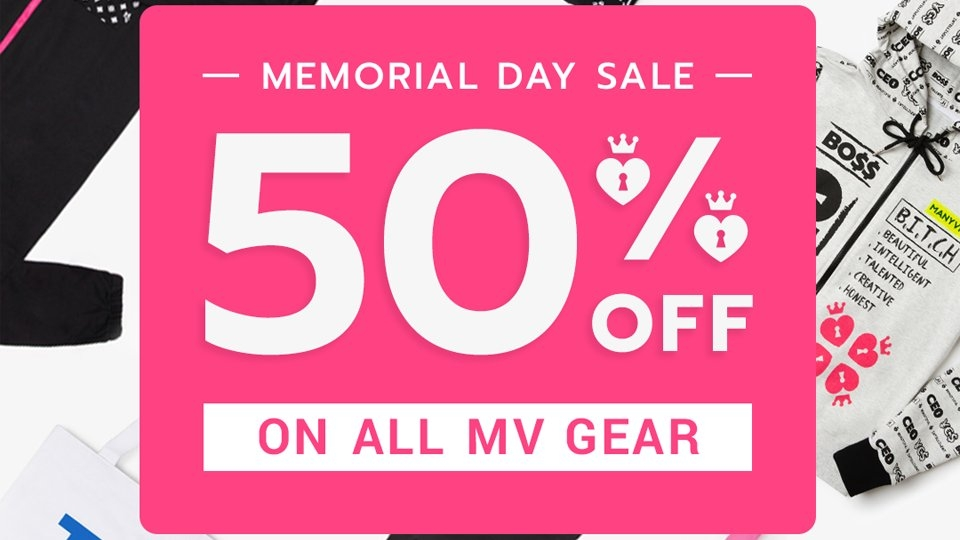 ManyVids Holds MV Gear Memorial Day Sale