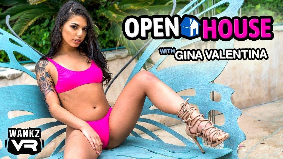 Gina Valentina Shoots 20th Scene for WankzVR