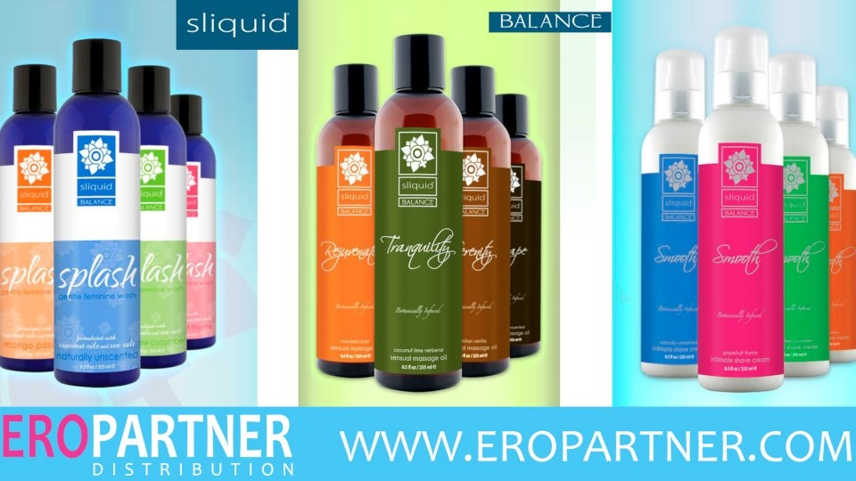 Eropartner Touts 'Balance' Collection from Sliquid, New Sex Roulette Game