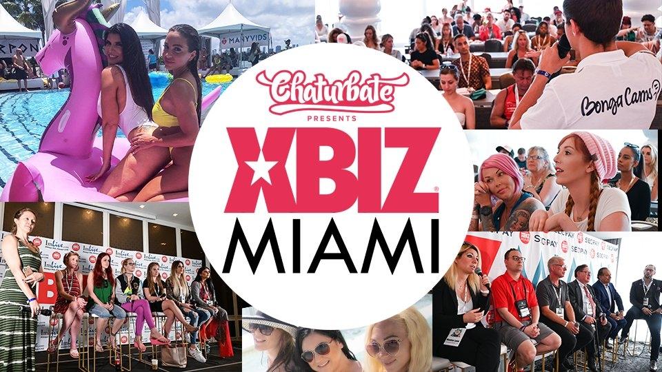 XBIZ Miami 2019: Day 2 Climaxes With Wet & Wild Fun, Witty Insights