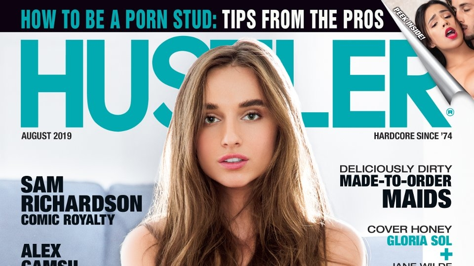 Porn Studs Offer Tips, Tricks in August Issue of Hustler