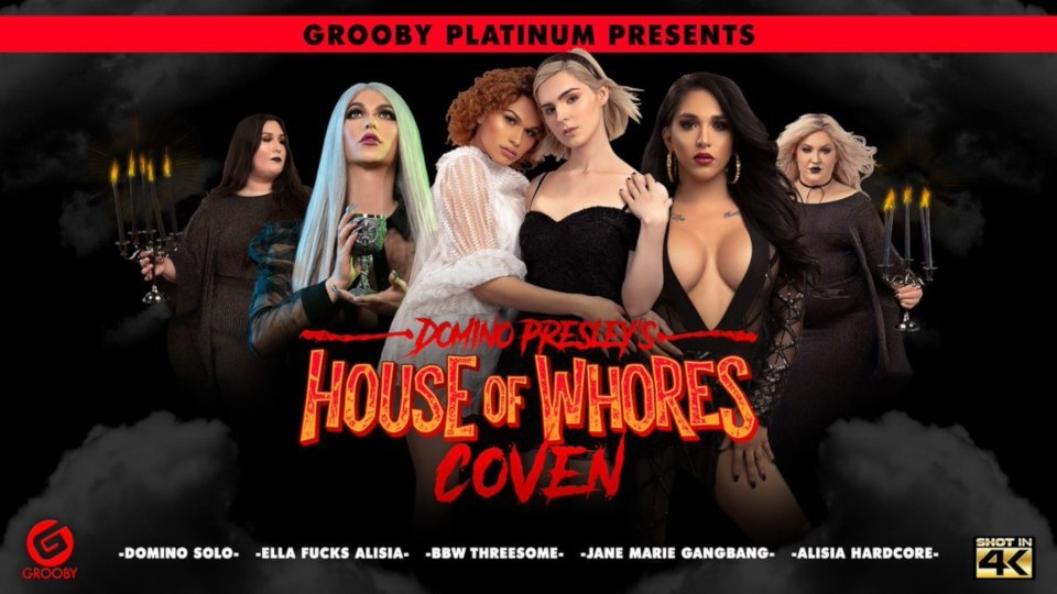 Grooby Announces 'Domino Presley's House of Whores: Coven' DVD Pre-Order