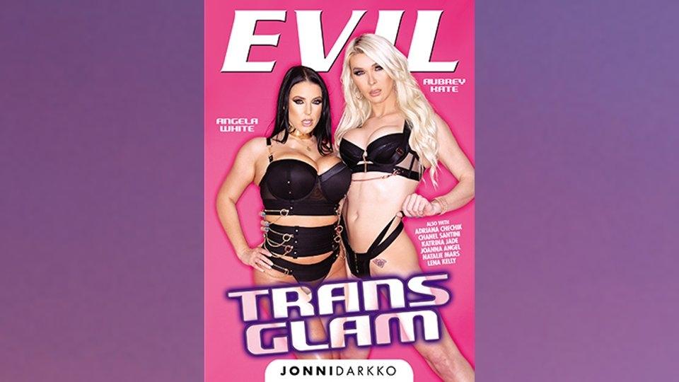 Evil Angel Touts Jonni Darkko's 1st TS Title 'Trans Glam'