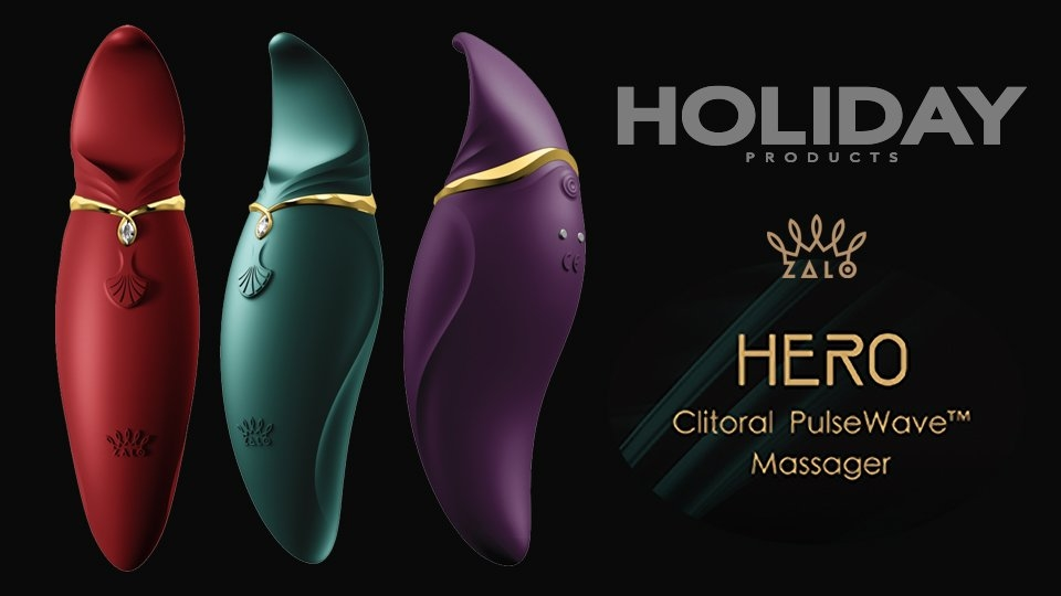 Holiday Products Now Shipping ZALO Hero Massager