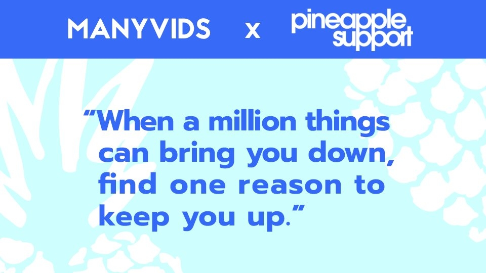 ManyVids Extends Support to Pineapple Support