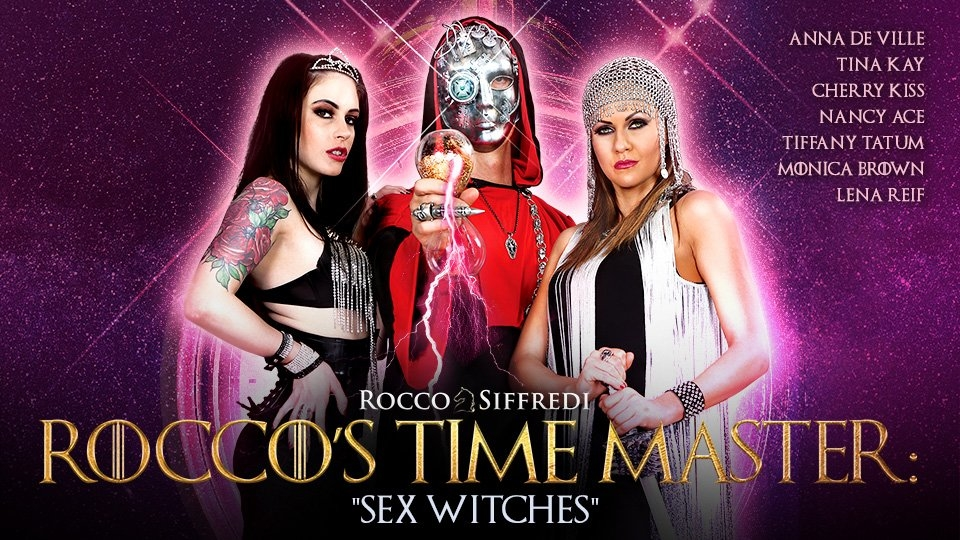 Rocco Siffredi Debuts 'Sex Witches' Series on Adult Time