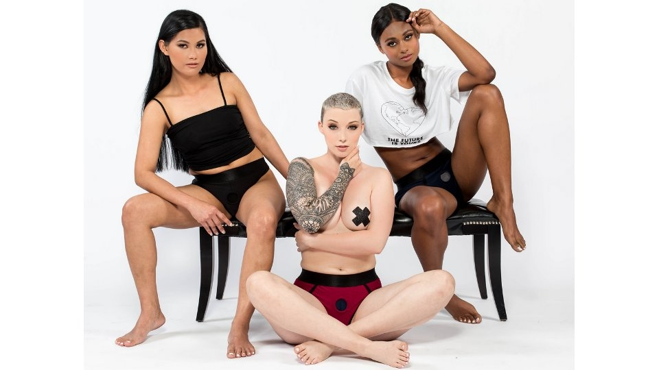 Sportsheets Debuts Em.Ex. Active Harness Wear With No Digital Retouching Campaign