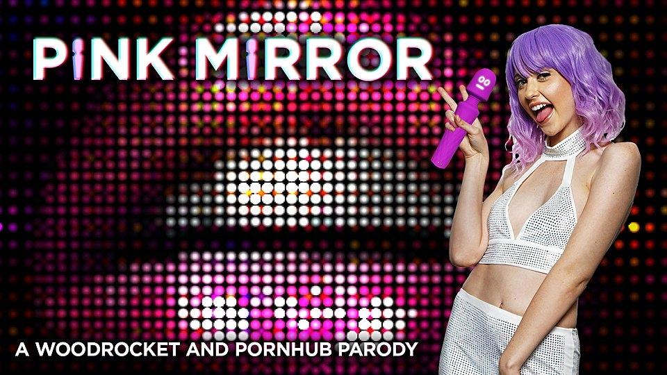Chloe Cherry Plays Miley Cyrass in Porn Parody, 'Pink Mirror'