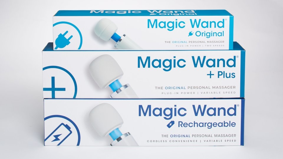Vibratex Now Shipping Magic Wand With Updated Packaging