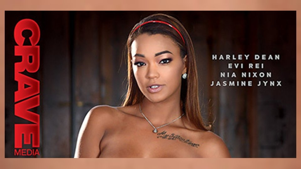 Harley Dean Anchors 'Black Valley Girls 5' for Crave Media