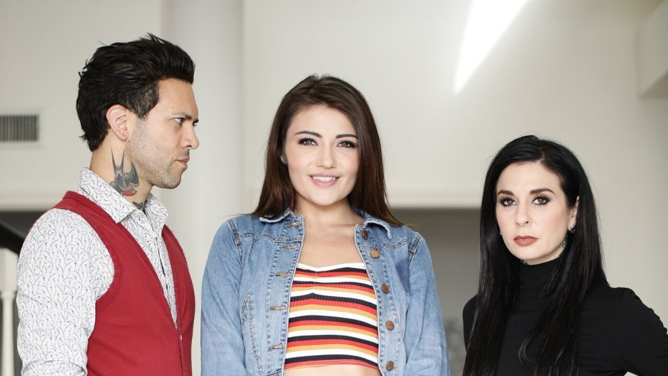 Adria Rae Joins 'Babysitter Auditions' for Burning Angel