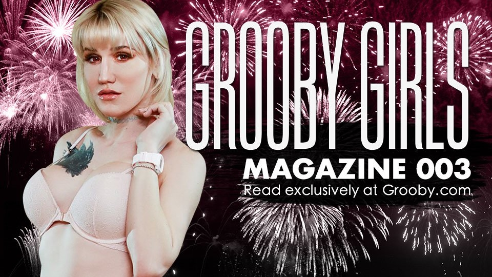Lena Kelly Scores Cover of Free Digital Magazine 'Grooby Girls'