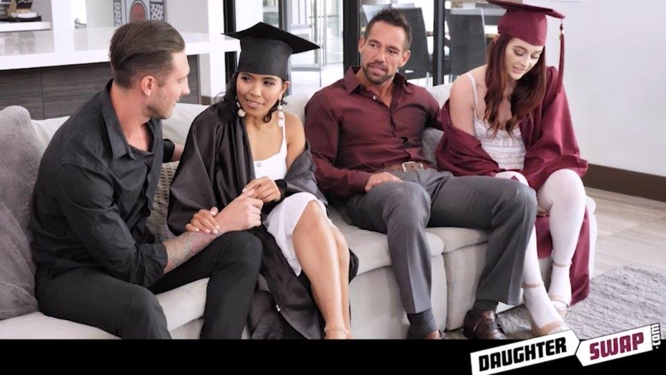 Danni Rivers, Jada Kai Star in New Scene for DaughterSwap.com