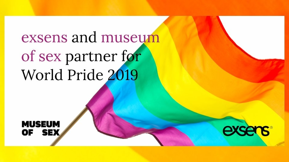 Exsens, Museum of Sex Partner to Celebrate World Pride NYC