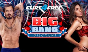 Flirt4Free Offers $16K in Prizes During July 4th 'Big Bang' Promo