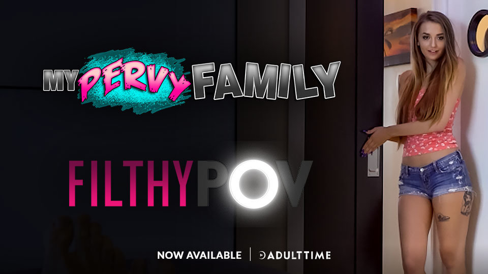 Levi Cash Joins Adult Time With FilthyPOV, MyPervyFamily