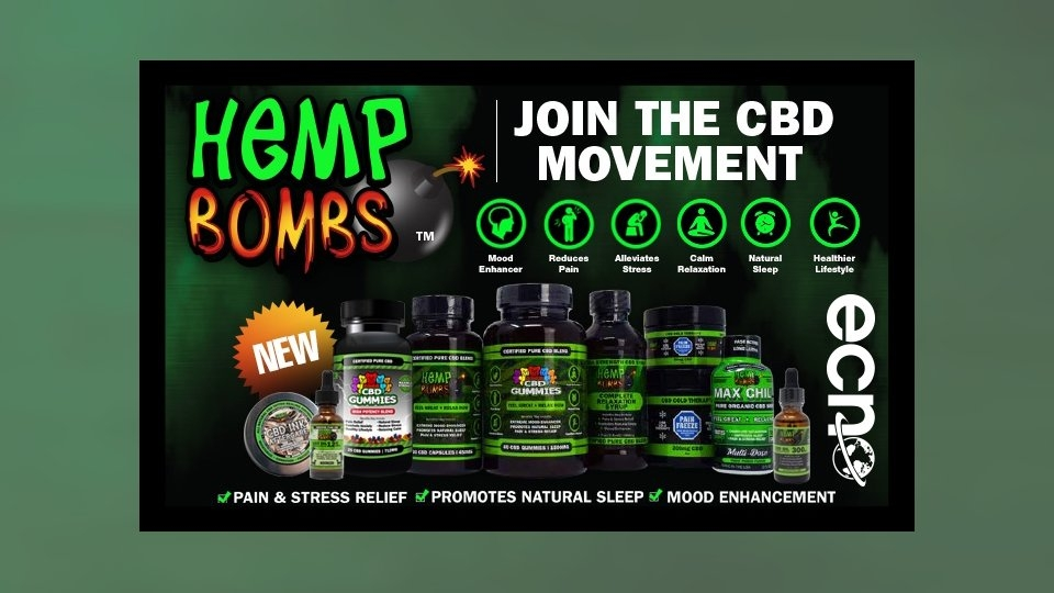 East Coast News Now Shipping Hemp Bombs Products