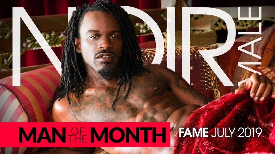 Newcomer Fame is Noir Male's 'Man of the Month' for July