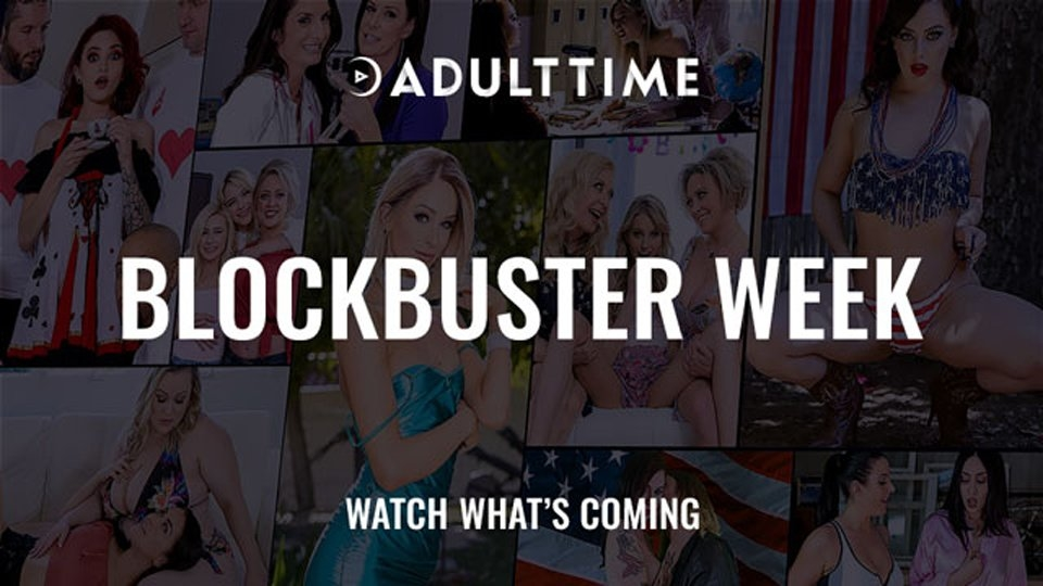 Adult Time's 'Blockbuster Week' Promo Offers Debuts, Finales, Free Streaming