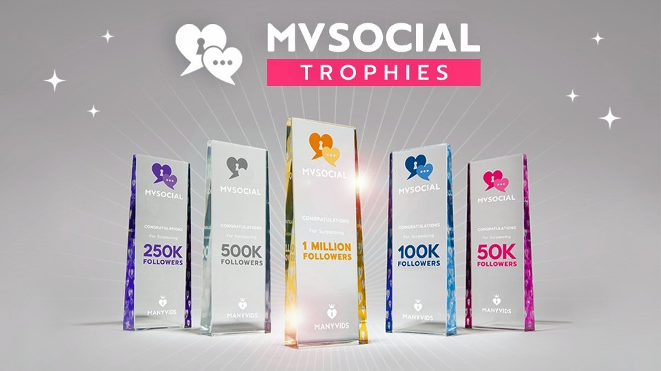 ManyVids Presents MV Social Trophies, Rewards Promotional Excellence
