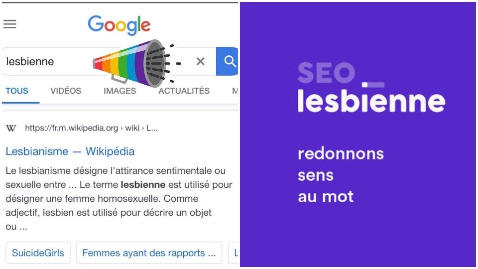 Google Tweaks Search Algorithm for 'Lesbian' to Display Less Porn