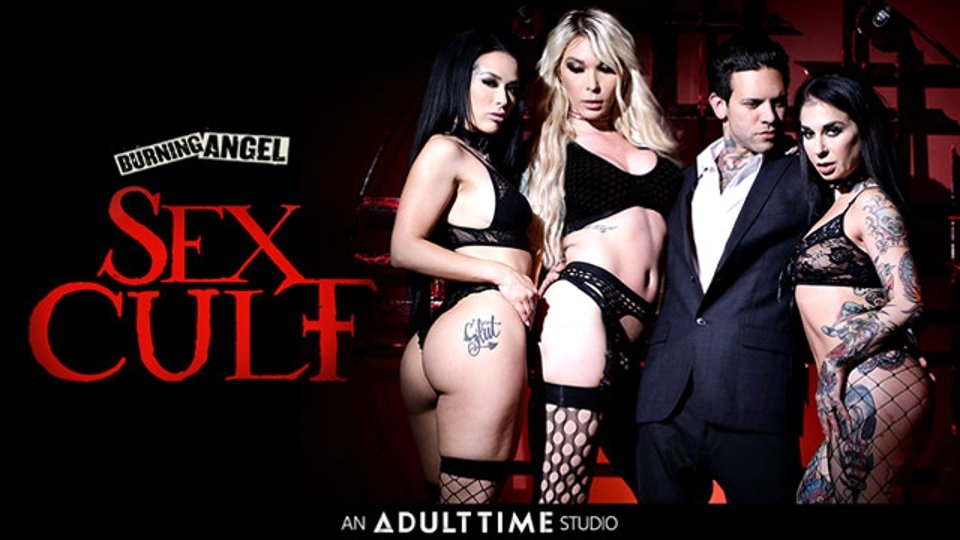 Joanna Angel, Katrina Jade Submit to 'Sex Cult' on Adult Time