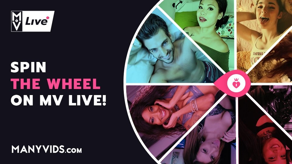 ManyVids Offers 'MV Live Wheel' Cam Game