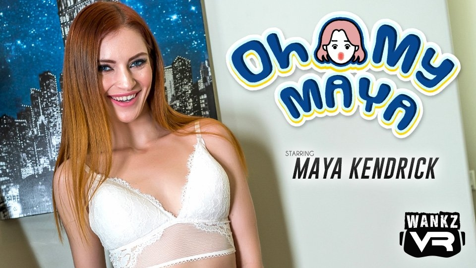 Maya Kendrick Is Draped in Lace for WankzVR's 'Oh My Maya'