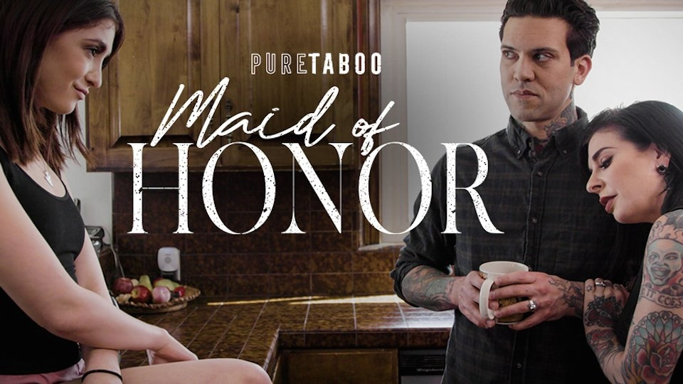 Joanna Angel Is Triple Threat in Pure Taboo's 'Maid of Honor'