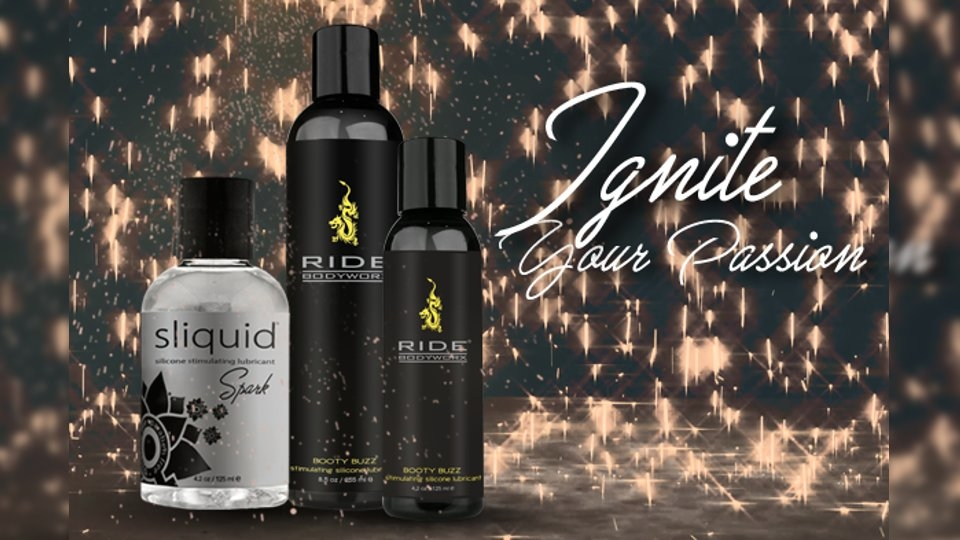 Sliquid Expands Lube Offerings With Spark, Ride Booty Buzz