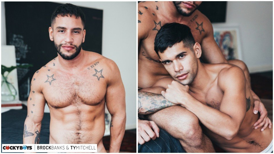 Brock Banks Makes Passionate CockyBoys Debut With Ty Mitchell