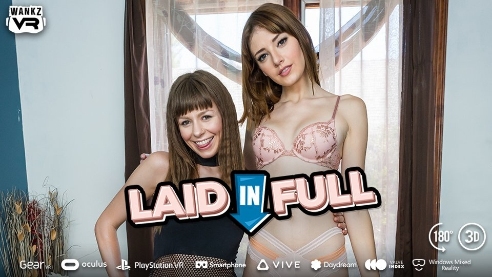 Lena Anderson, Alex Blake Pay the Rent in WankzVR's 'Laid in Full'