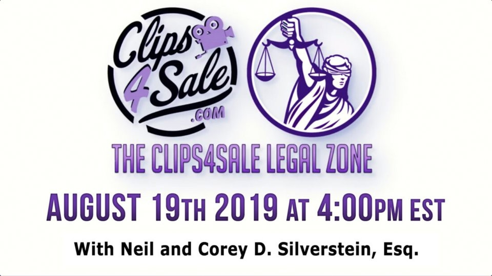 Clips4Sale Legal Zone to Feature Attorneys Corey Silverstein, Lawrence Walters