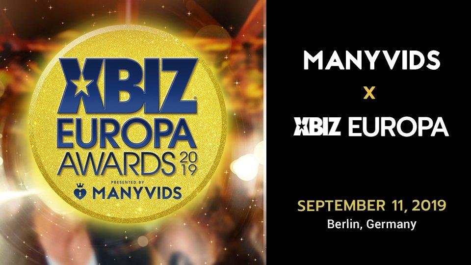 ManyVids Set to Rock XBIZ Berlin, Offers VIP Europa Awards Contest