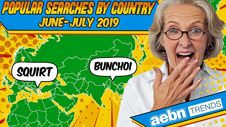 AEBN Reveals Popular Searches by Country for June, July