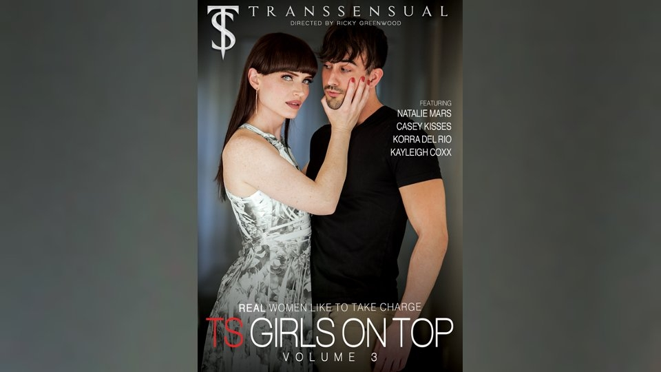Natalie Mars Dominates in 'TS Girls on Top' for TransSensual