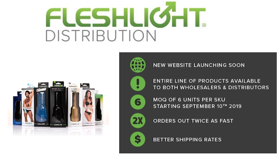 Fleshlight Distribution Announces Wholesale Changes