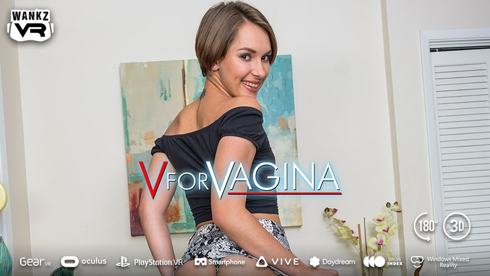 Natalie Porkman Makes Her WankzVR Debut in 'V for Vagina'