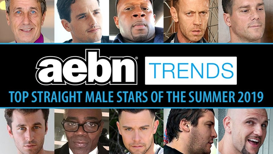 AEBN Reveals This Summer's Top 10 Straight Male Stars