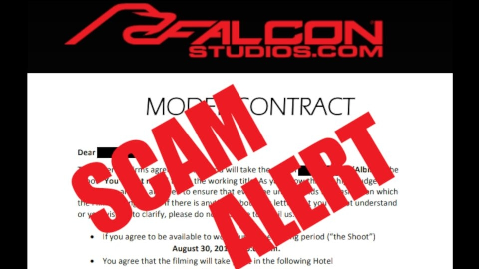 Industry Alert: Scammer Posing as Falcon Studios Recruiter
