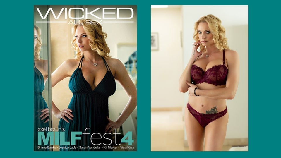 Briana Banks Dazzles in 'Axel Braun's MILF Fest 4' for Wicked